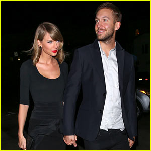 Taylor Swift & Calvin Harris Hold Hands on Cute Date Night!