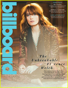 Taylor Swift Praises Florence + the Machine in 'Billboard' Mag: 'She Is The Most Magnetic Person'