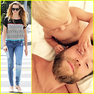 Teresa Palmer's Son Bodhi Is So Adorable Playing With Mark Webber