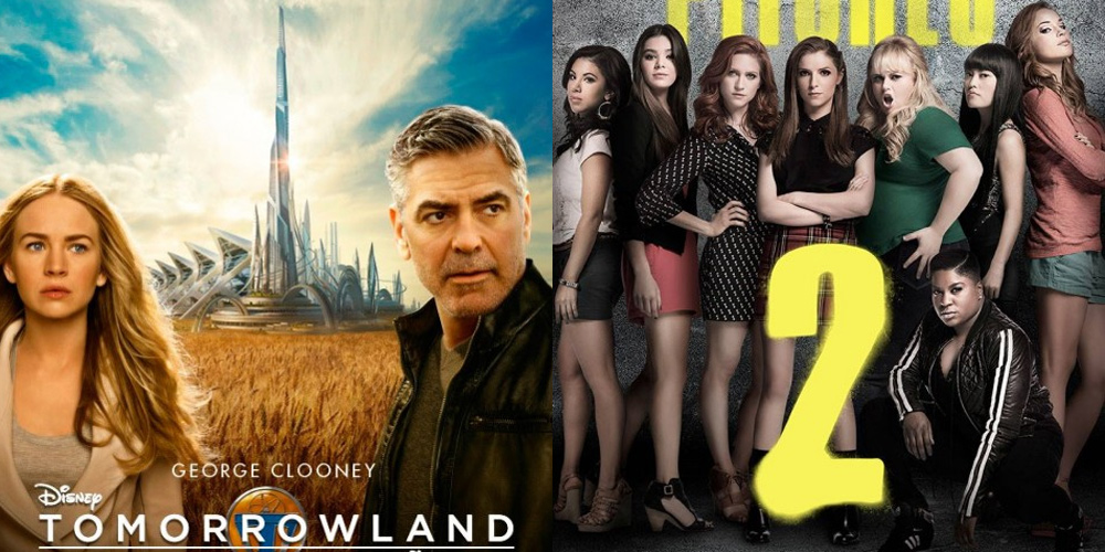 Tomorrowland wins the memorial day weekend box office britt robertson george clooney - Box office week end france ...