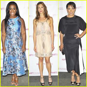 Uzo Aduba & 'OITNB' Cast Honor Makeup, Hair & Costume Designers at New York Women Awards Gala 2015!