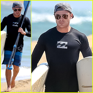 Zac Efron Is All Ready for a Beach Day in Hawaii!