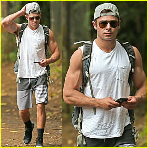 Zac Efron Looks So Ripped During Memorial Day Weekend