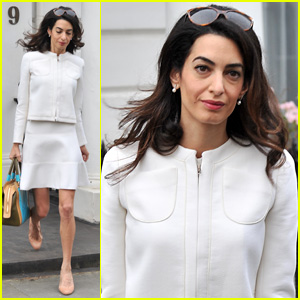 Amal Clooney is as Elegant as Ever at High Court in London