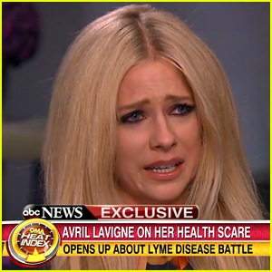 Avril Lavigne Tears Up While Discussing Lyme Disease Battle