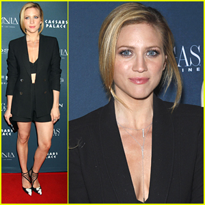 Brittany Snow Makes It A Family Affair for 'Vegas' Magazine Party