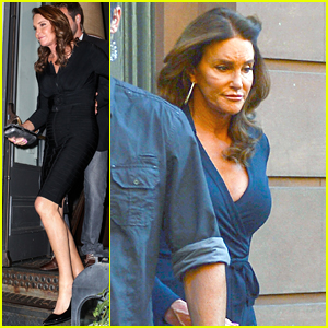 Caitlyn Jenner Rocks Two Form-Fitting Dresses in NYC