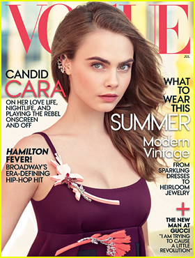 Cara Delevingne Covers 'Vogue': 'I Feel This Desire To Throw Away The Story I've Been Telling For Years'