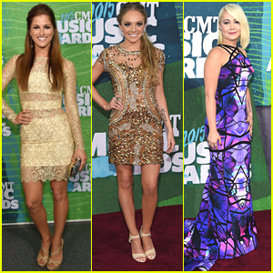 Cassadee Pope & Danielle Bradbery Join 'Voice' & 'Idol' Alums at CMT Awards 2015