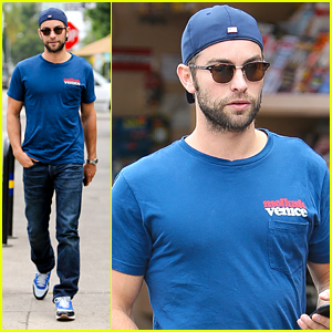Chace Crawford Grabs Lunch After ABC Show Name Change