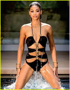 Chanel Iman Shows Off Her Amazing Swimsuit Body for 'C' Mag!