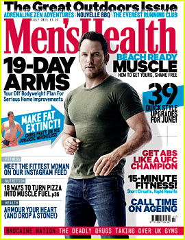 Chris Pratt Says He Will 'Never Be Fat Again'