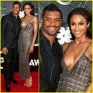 Ciara & Boyfriend Russell Wilson Are Picture Perfect at BET Awards 2015!