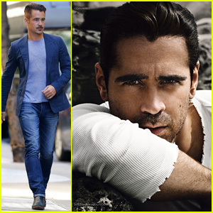 Colin Farrell is Smoldering in New 'Dolce & Gabbana Intenso' Campaign - Watch a BTS Video!