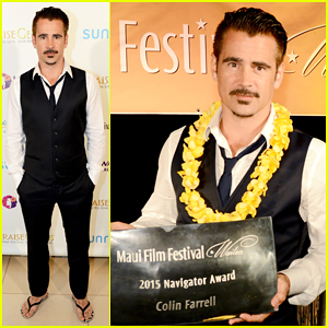 Colin Farrell Is The Navigator At Maui Film Festival 2015!