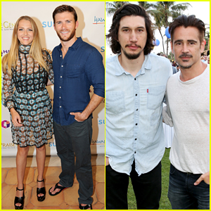 Colin Farrell, Scott Eastwood & Teresa Palmer Get Honored At Maui Film Festival 2015!