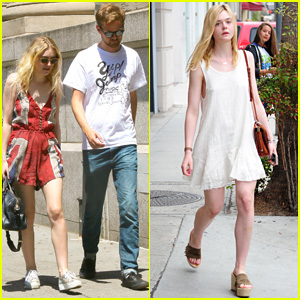 Dakota Fanning & Boyfriend Jamie Strachan Splurge in NYC