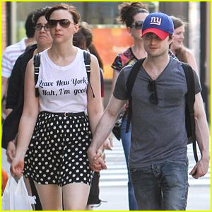 Daniel Radcliffe Treats Girlfriend Erin Darke To The Movies