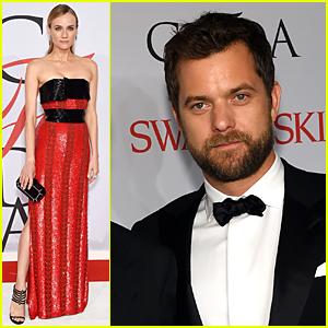 Diane Kruger & Joshua Jackson Look Perfect at CFDA Awards