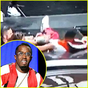 Diddy Falls Through a Hole During BET Awards 2015 (Video)