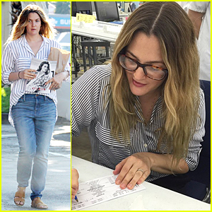 1e090c09e8 Drew Barrymore Hand Made Glasses For Some Lucky Flower Eyewear Customers