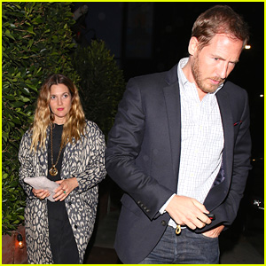 Drew Barrymore & Will Kopelman Grab Dinner in Santa Monica