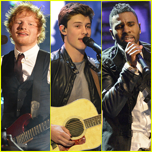Ed Sheeran, Shawn Mendes, & Jason Derulo Hit The Stage at MuchMusic Video Awards 2015 - Watch Here!