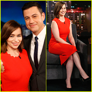Emilia Clarke's Valley Girl Impression Is Seriously Amazing - Watch Now!