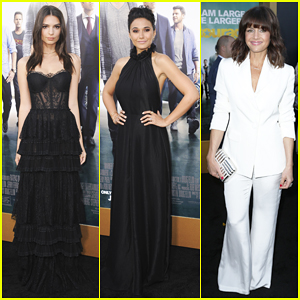 Emily Ratajkowski, Emmanuelle Chriqui & Carla Gugino Heat Up the 'Entourage' Los Angeles Premiere!