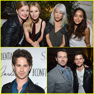 Emily VanCamp & Ashley Madekwe Have Mini 'Revenge' Reunion at Grand Opening of Le Jardin!