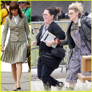 Melissa McCarthy, Kristen Wiig, & Kate McKinnon Begin 'Ghostbusters' Filming in Boston - See the First Pics!