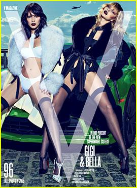 Gigi Hadid Goes Grunge for 'V Magazine' with Sister Bella!