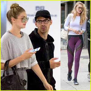 Gigi Hadid & Joe Jonas Bring Their Romance to New York City