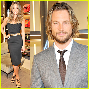 Hannah Davis & Gabriel Aubry Are Hot Models at Dsquared2 Party