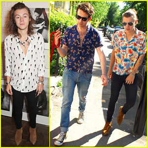 Harry Styles Shows Support for Bestie Nick Grimshaw at Topman Collection Launch!