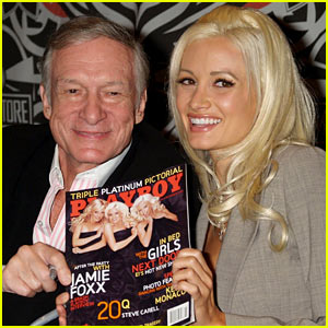 Hugh Hefner's Slams Holly Madison as a 'Gold Digger