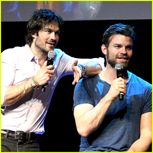 Ian Somerhalder & Daniel Gillies Bring Tons of Sexy to Bloody Night Con