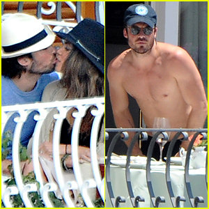 Ian Somerhalder & Nikki Reed Pack on the PDA During Romantic Italian Vacation!