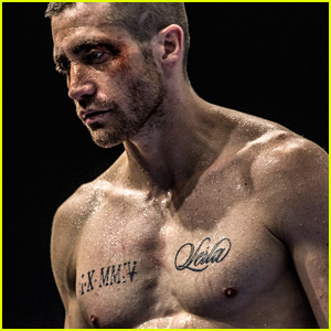 Jake Gyllenhaal is Buff, Sweaty & Shirtless in New 'Southpaw' Stills With Rachel McAdams