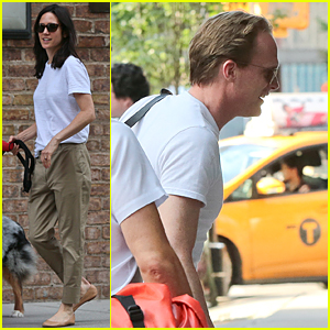 Jennifer Connelly's Hubby Paul Bettany Shares 'Captain America 3' Set Photo