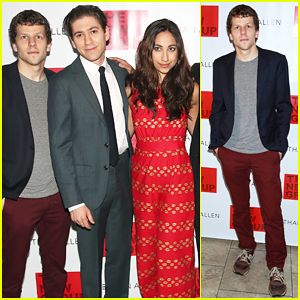 Jesse Eisenberg & 'The Spoils' Cast Celebrate Opening Night!