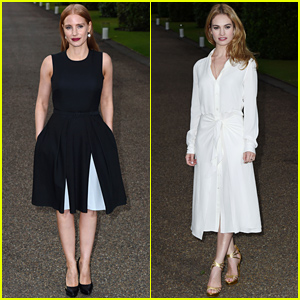 Jessica Chastain & Lily James Celebrate with 'Vogue' Before Wimbledon!