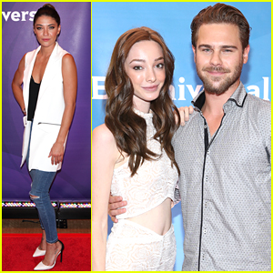 Jessica Szohr Doesn't Bring Any 'Complications' To NBC's Summer Press Day