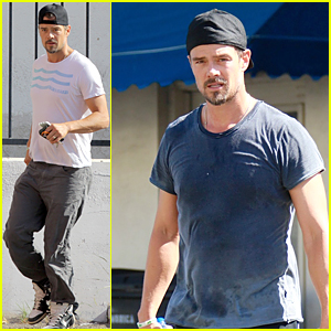 Josh Duhamel's Son Axl Is Learning His ABCs
