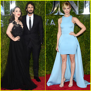 Josh Groban & Girlfriend Kat Dennings Couple Up at Tony Awards 2015!