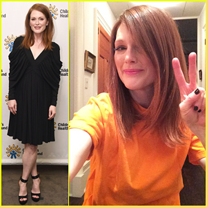 Julianne Moore Rocks Orange for Gun Violence Awareness Day!