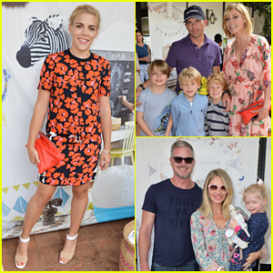 Pleasing Busy Philipps Julie Bowen Eric Dane Make It A Family Affair At Hairstyles For Men Maxibearus