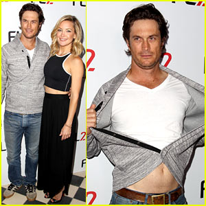 Kate Hudson's Brother Oliver Bares Skin at FL2 Photo Call