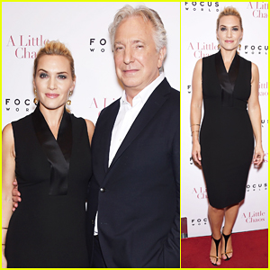 Kate Winslet Brings 'A Little Chaos' to NYC with Alan Rickman!
