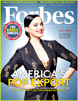 Katy Perry Covers 'Forbes,' Is Highest Paid Female Celeb in the World!